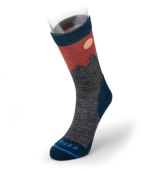 Fits Light Hiker Teton Crew Socks