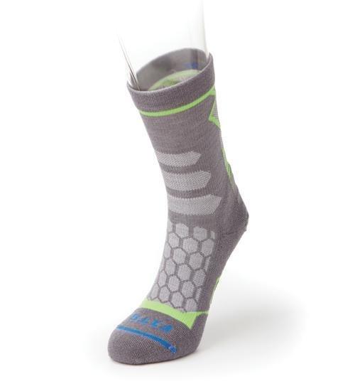 Fits Light Hiker Banded Mini Crew Socks