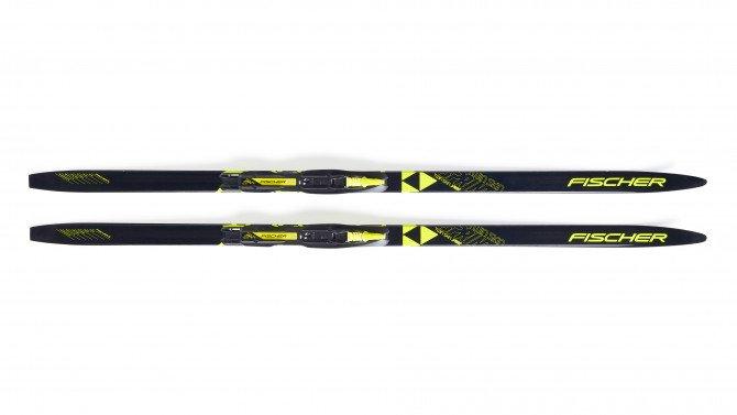 Fischer Twin Skin Sprint Mounted Skis