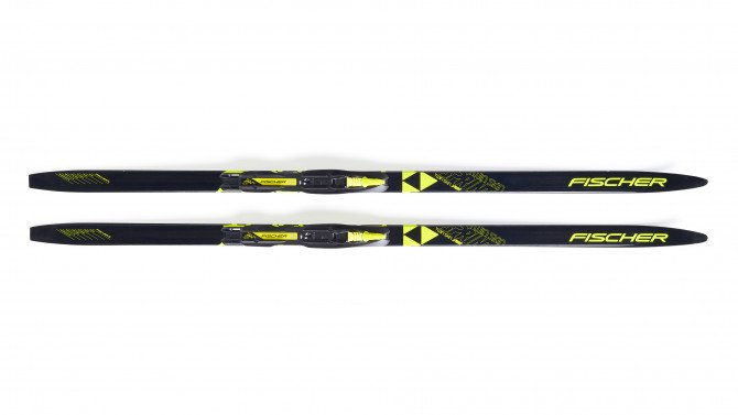 Fischer Twin Skin Sprint Mounted Skis