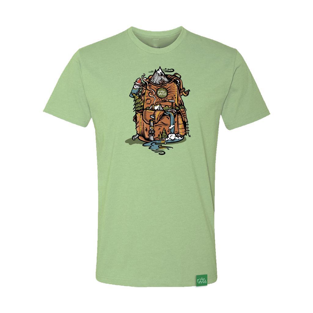 Wild Tribute Nature Backpack Tshirt