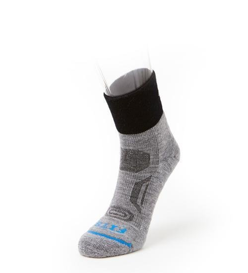 Fits Micro Light Performance Trail 1/4 Socks