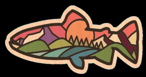 DCD Wood Sticker