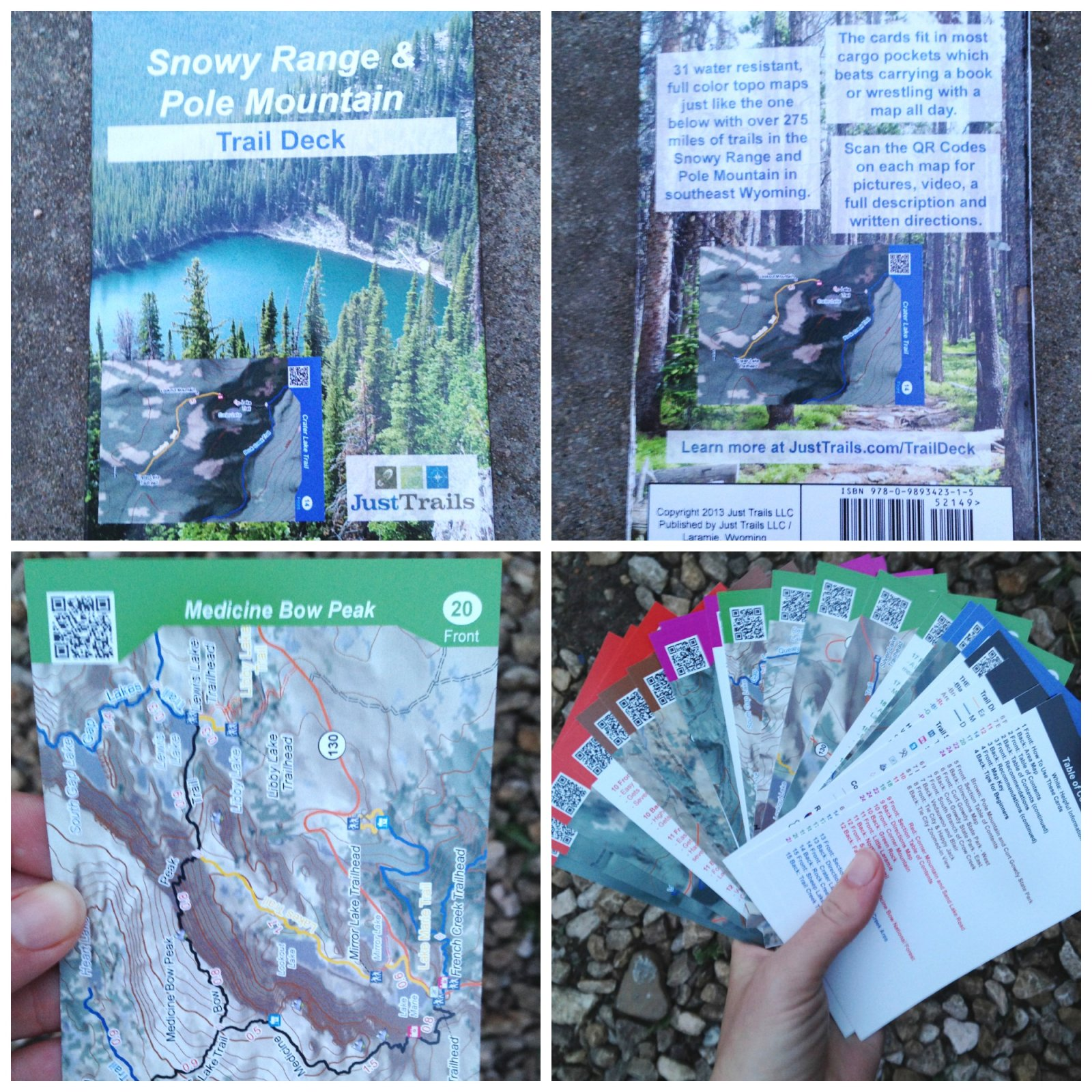 Just Trails Trail Deck- Snowy/Pole Mtn