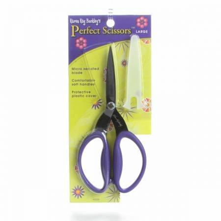 Perfect Scissors Karen Kay Buckley 7 1/2  inch Large Purple