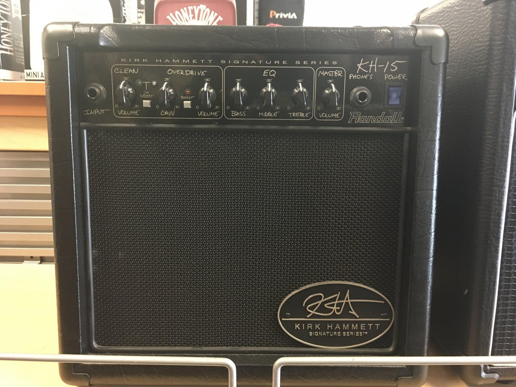 Randall KH15 15 Watt Kirk Hammett Amp