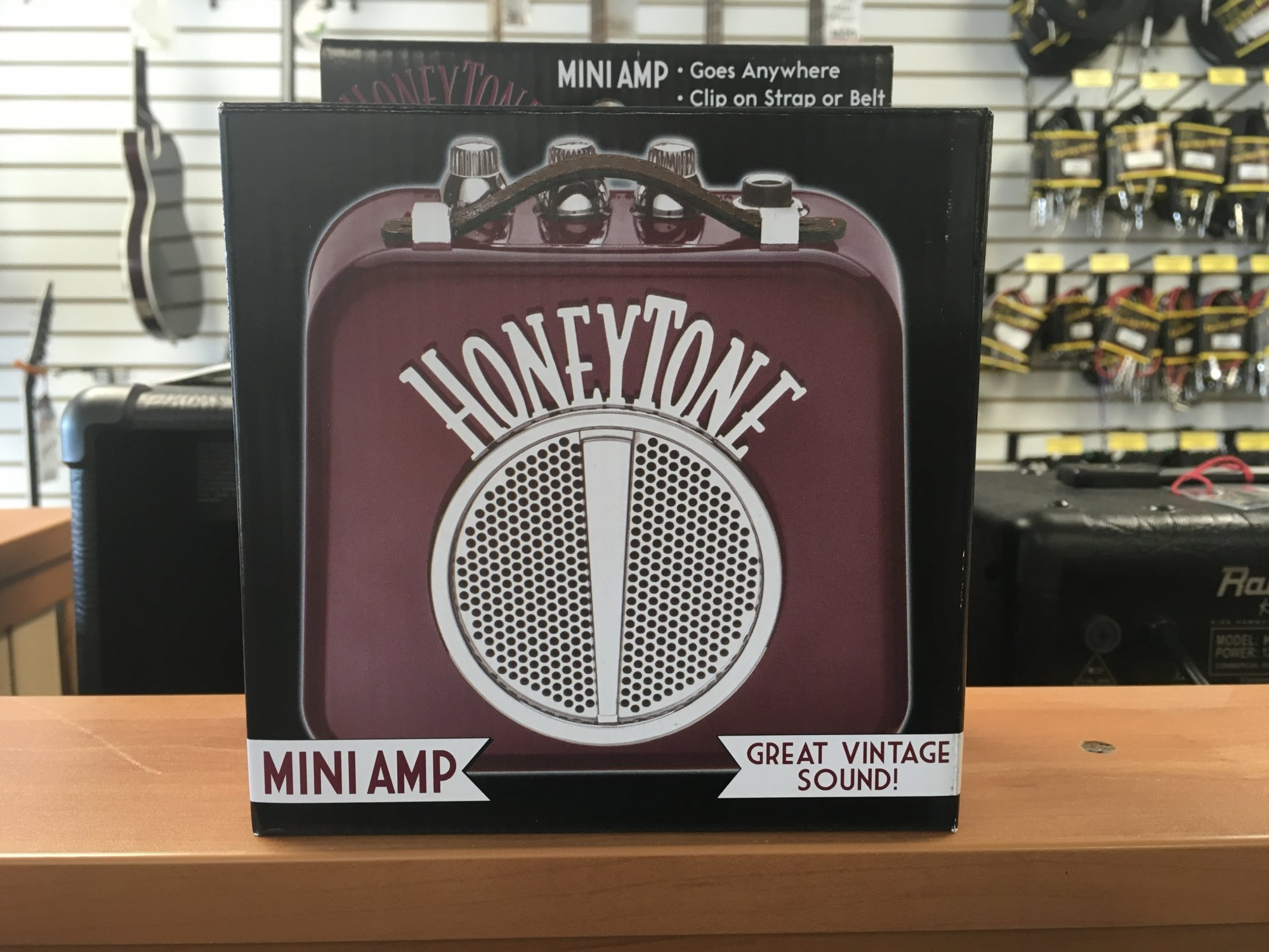 Danaelctro Honeytone Mini Amp Burgundy N10BU