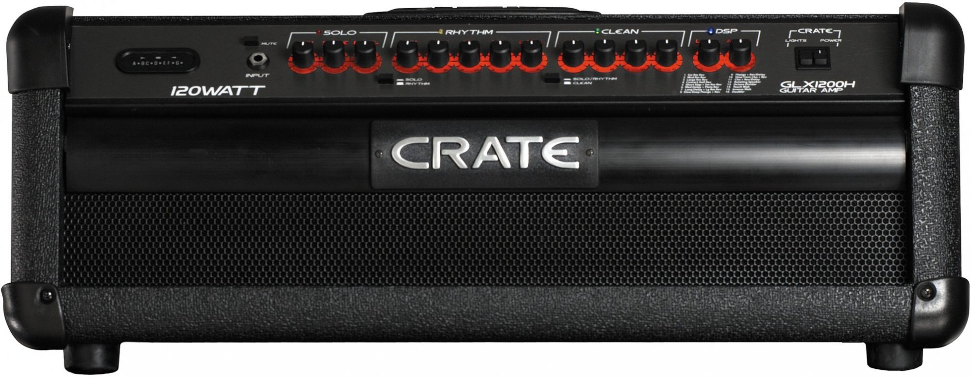 Used Crate Guitar Amp Head GLX1200H UGLX1200H