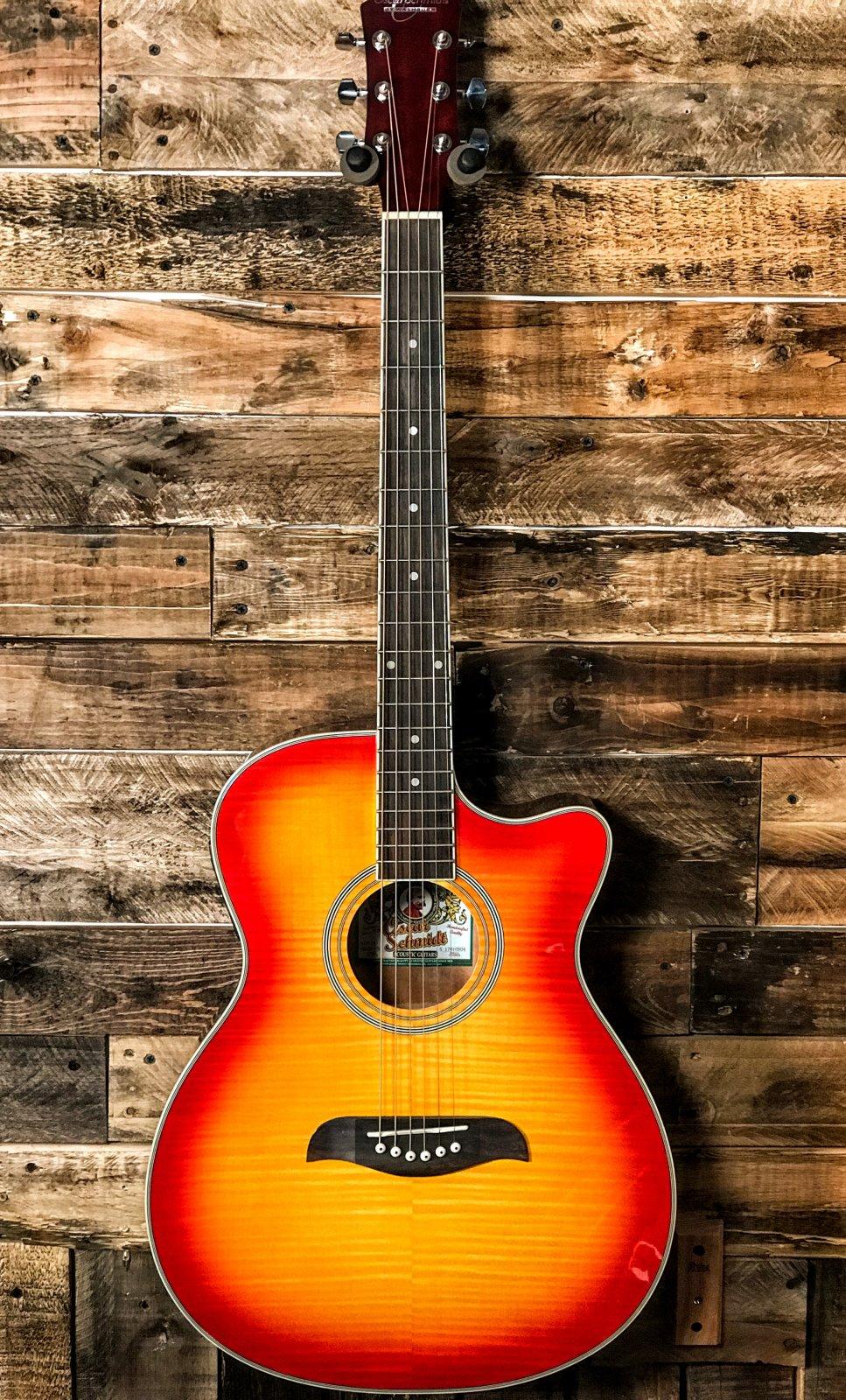 Oscar Schmidt OACEFCS Auditorium Acoustic Guitar