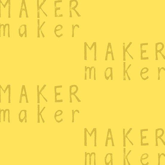 Maker Maker Linen/Cotton - Yellow