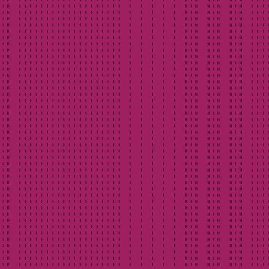 Entwine Sashiko Pink/Purple Stripe Giucy Giuce