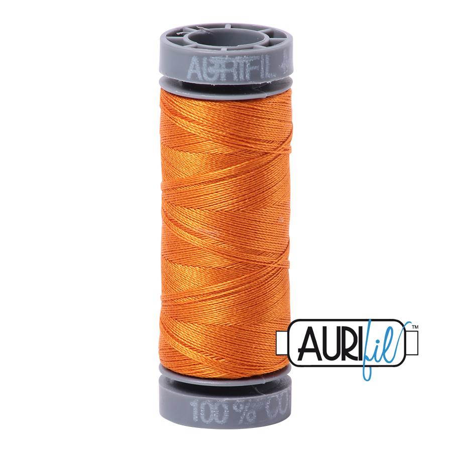 Aurifil 28wt Small Spool- Bright Orange