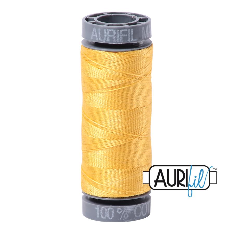 Aurifil 28wt Small Spool- Pale Yellow