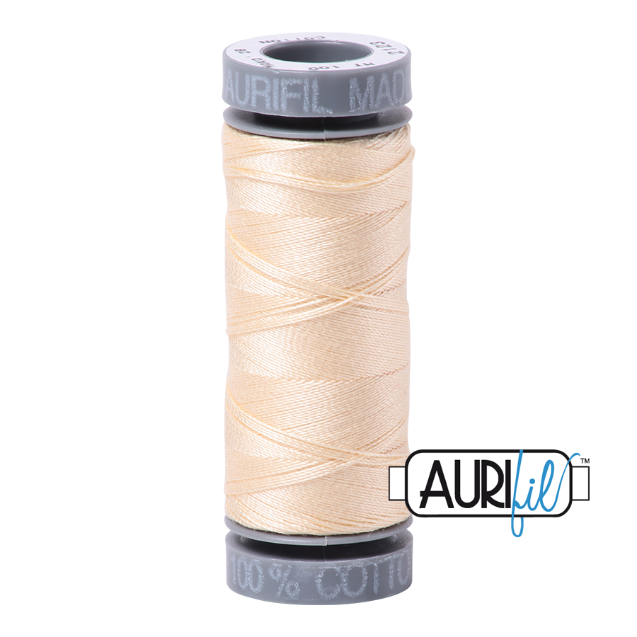 Aurifil 28wt Small Spool- Butter