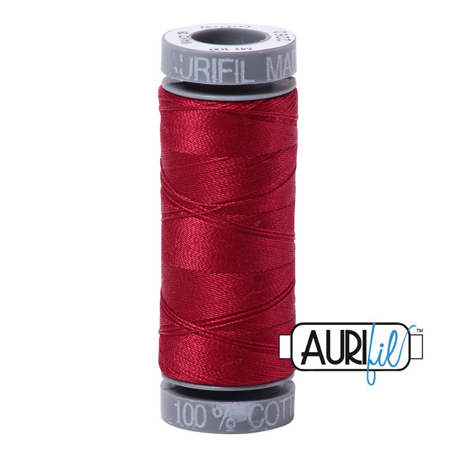 Aurifil 28wt Small Spool- Red Wine