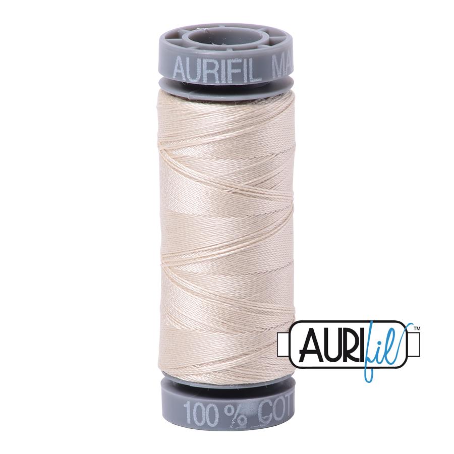 Aurifil 28wt Small Spool- Light Beige