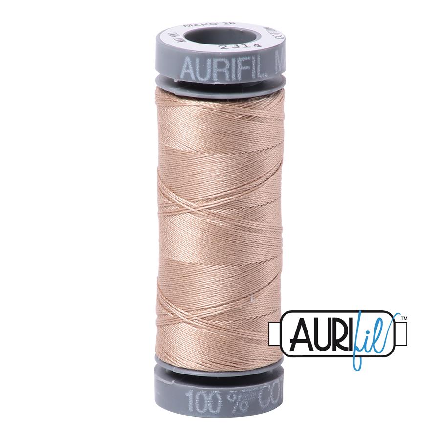 Aurifil 28wt Small Spool- Beige