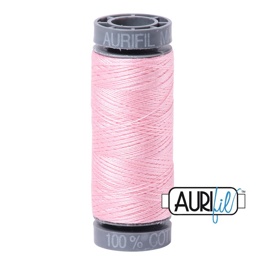 Aurifil 28wt Small Spool- Baby Pink