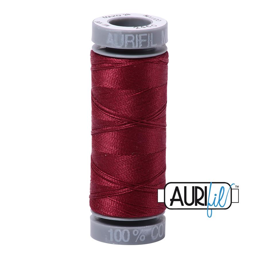 Aurifil 28wt Small Spool- Dark Carmine Red