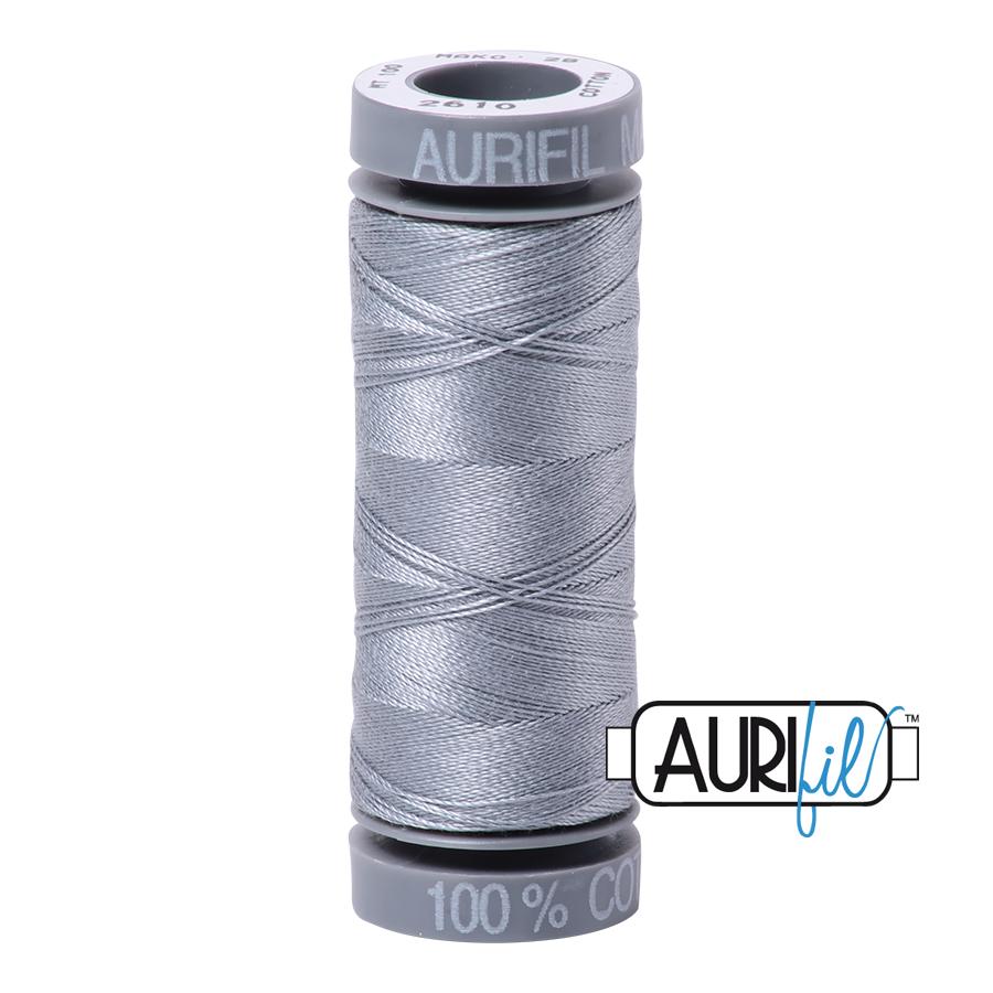 Aurifil 28wt Small Spool- Light Blue Grey