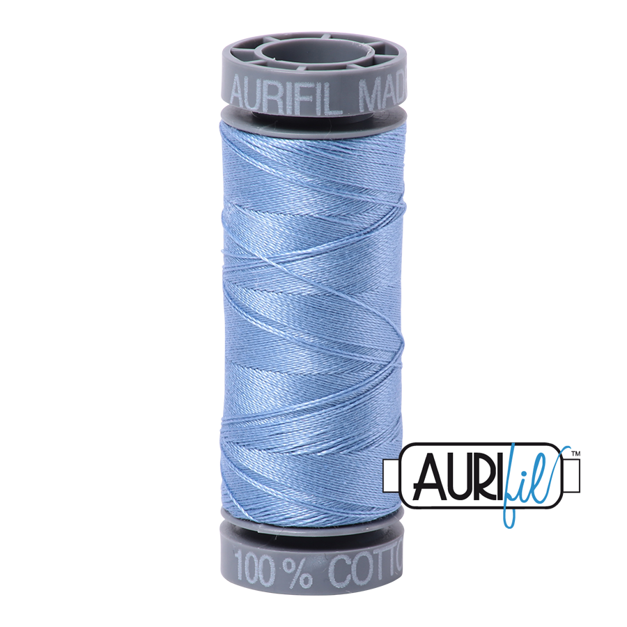 Aurifil 28wt Small Spool- Light Delft Blue