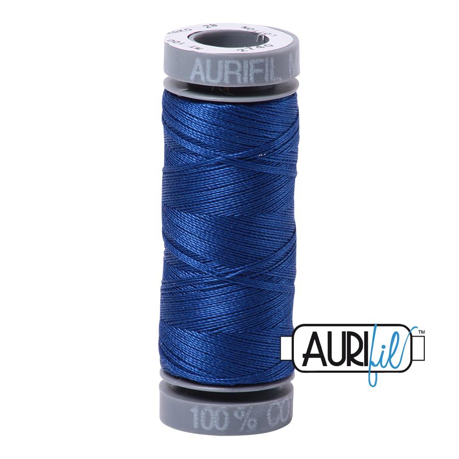 Aurifil 28wt Small Spool- Dark Cobalt