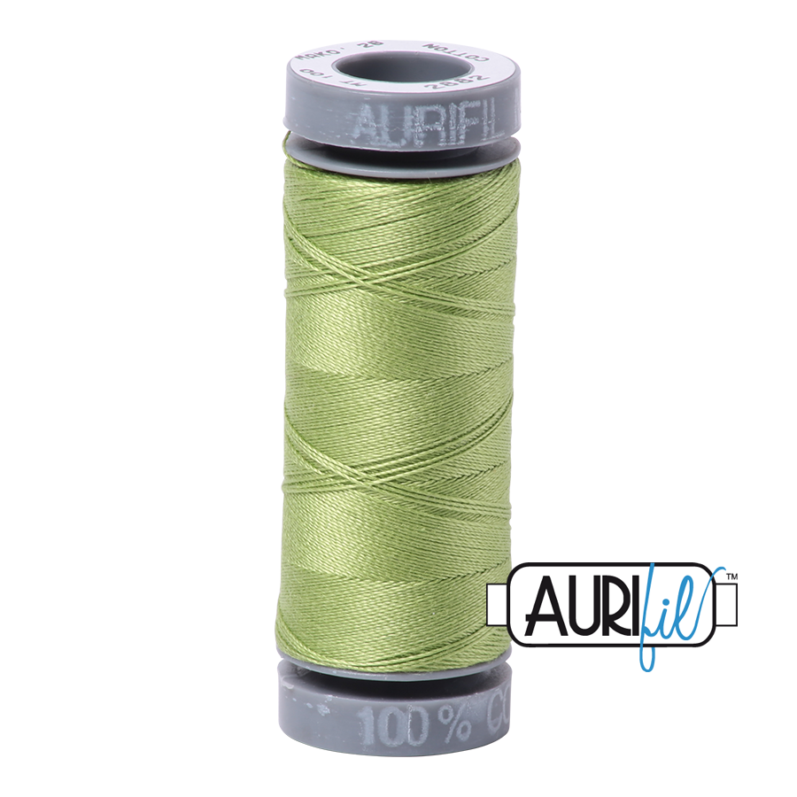 Aurifil 28wt Small Spool- Light Fern