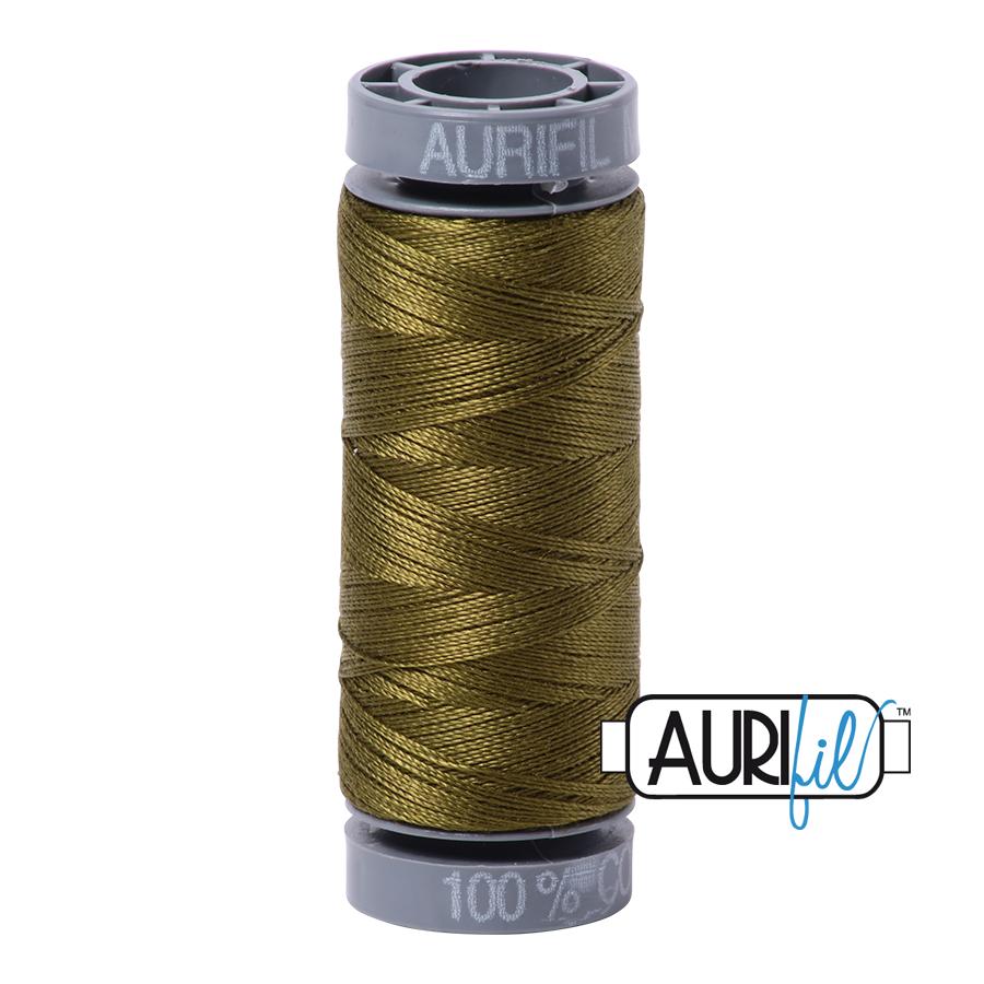 Aurifil 28wt Small Spool- Very Dark Olive