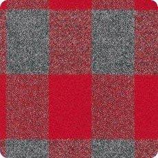 Mammoth Flannel - Red & Grey