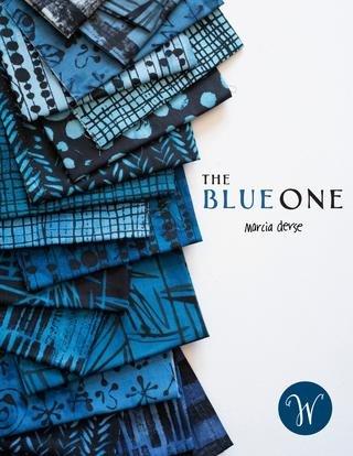 Marcia Derse Blue One 24 FQ Bundle
