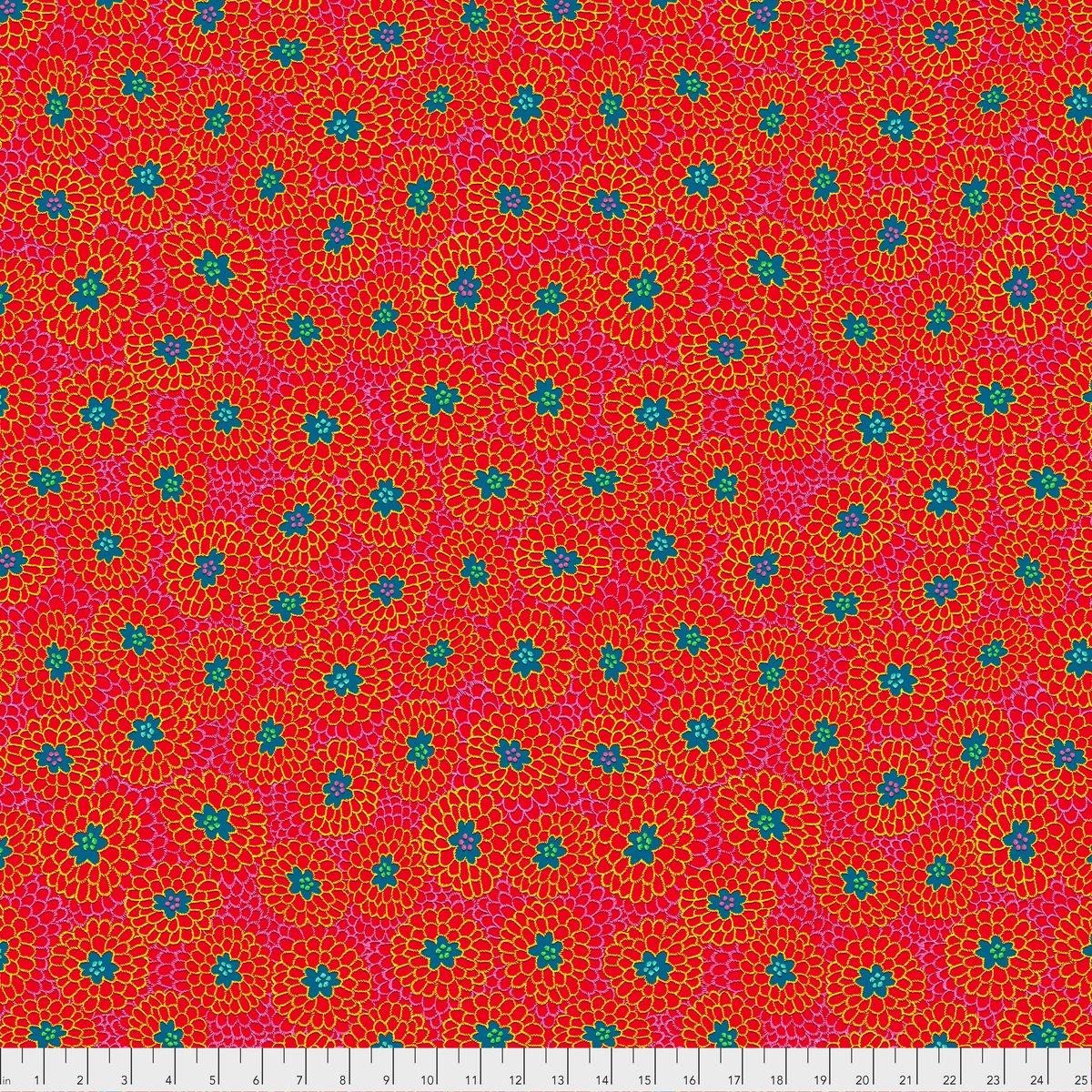 Broderie Boheme - Grandma's Curtains Raspberry