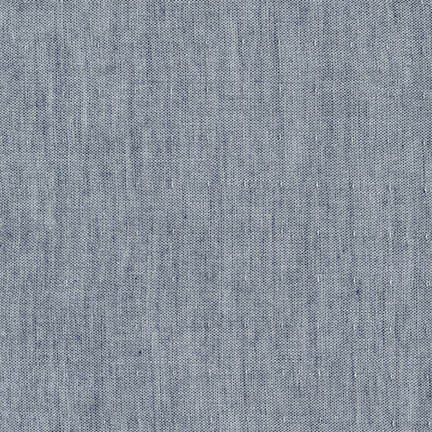 Double Qauze - Chambray Indigo