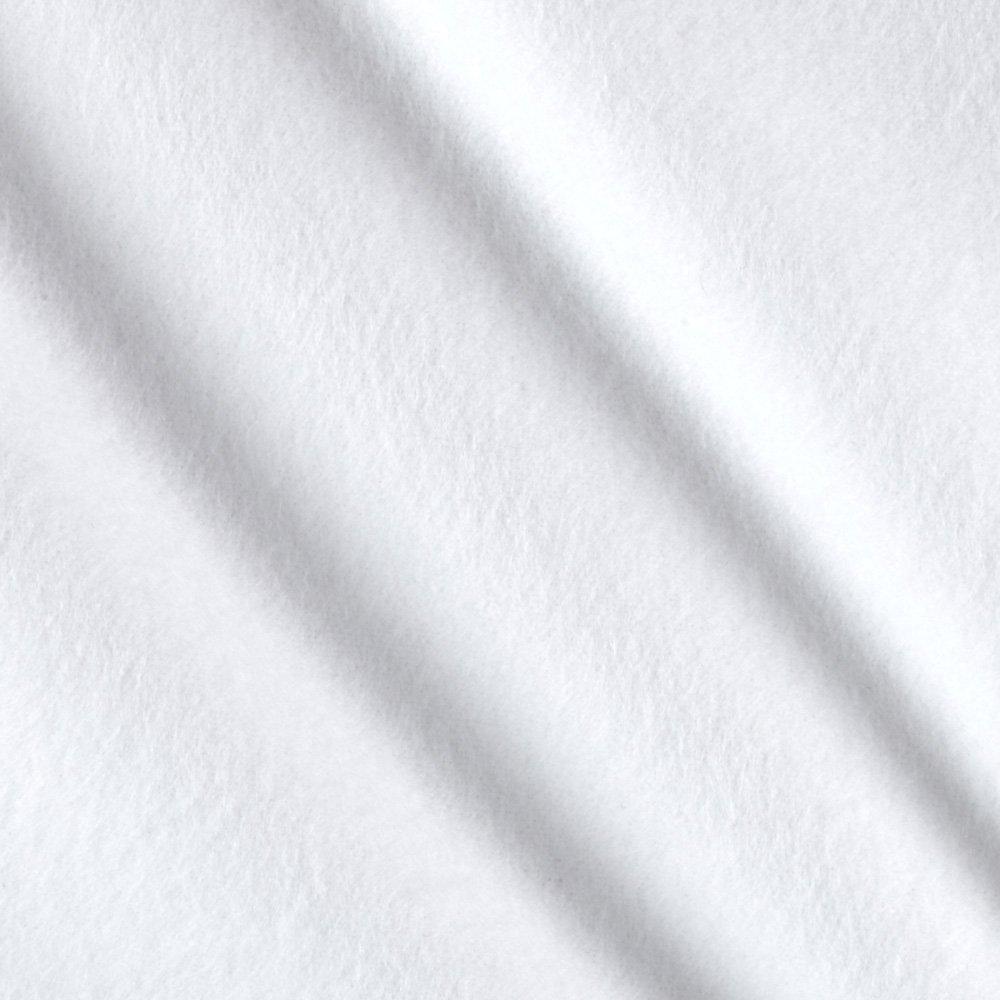 Cloud 9 Flannel - White