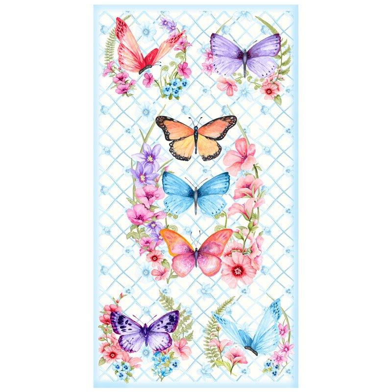 Papillon Parade Panel
