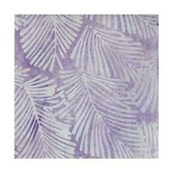 Light Purple Fern Batik