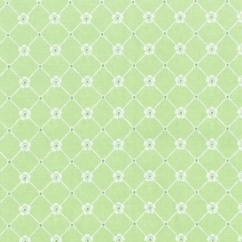 Afternoon in the Attic - SWEET EYELET-PERIDOT