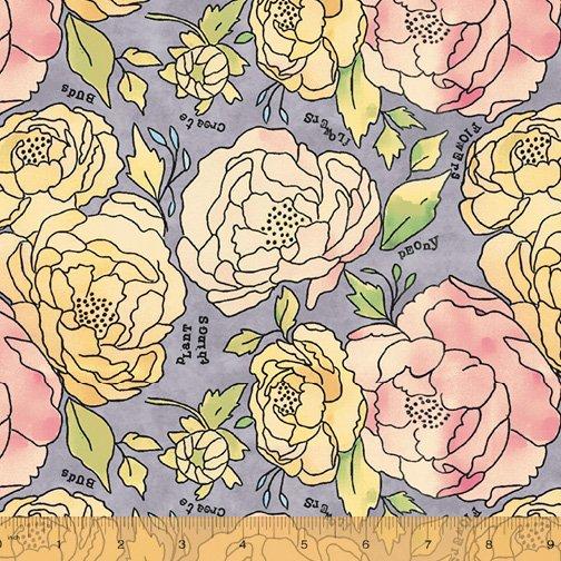 Potpourri Lavender 51654-3 by Windham Fabrics