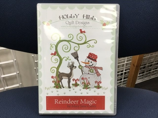 Reindeer Magic Embroidery Designs by Mary Jane Carey