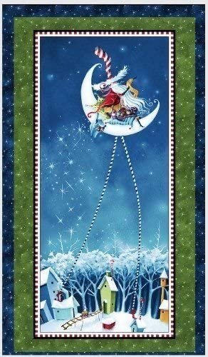 Merriment Panel: Santa on the Moon