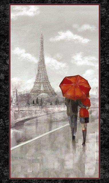 Paris couple panel