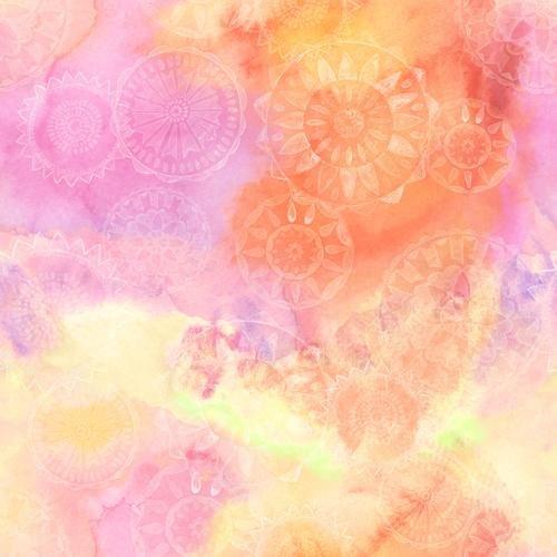 Loca Linda B-9399/32 multi-pink/orange