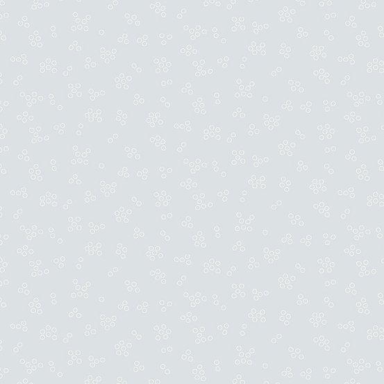 Grey tonal Circles - Cloud White by Andover Fabrics