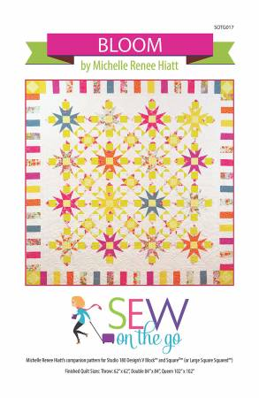 Bloom pattern by Sew on the Go!