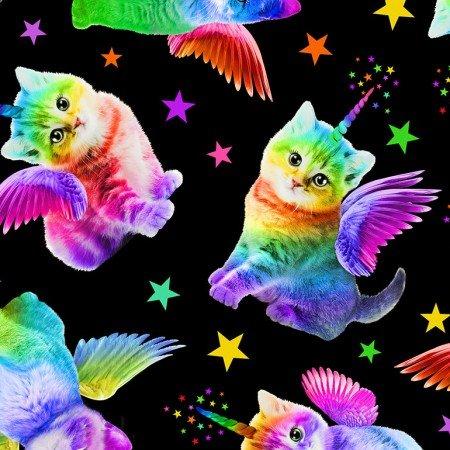 Rainbow Unicorn Cat