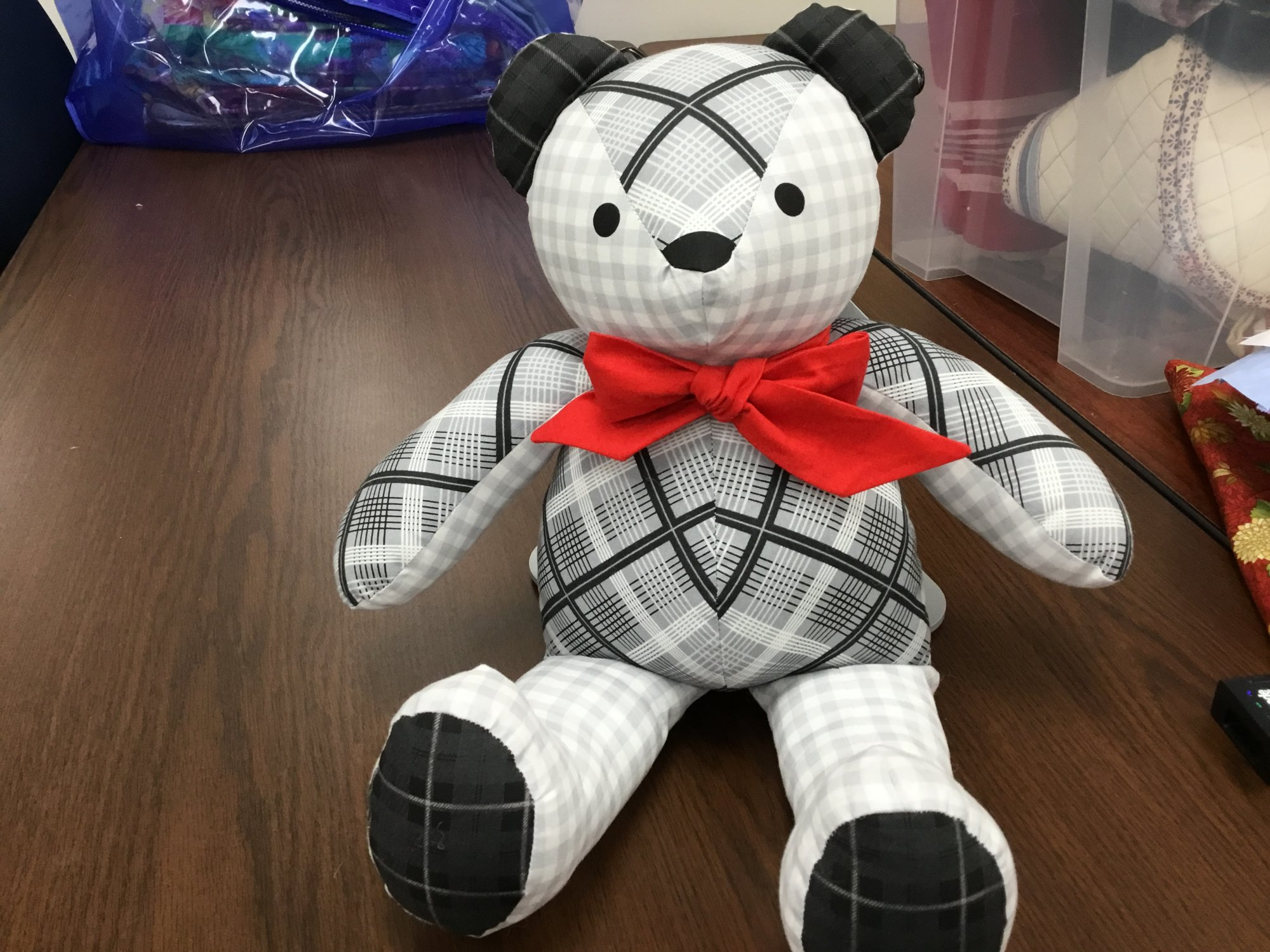 Finished Teddy Bear