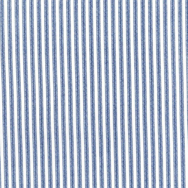 Dots and Stripes - Blue and White Stripe