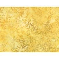 Yellow/Gold Flowers Batik