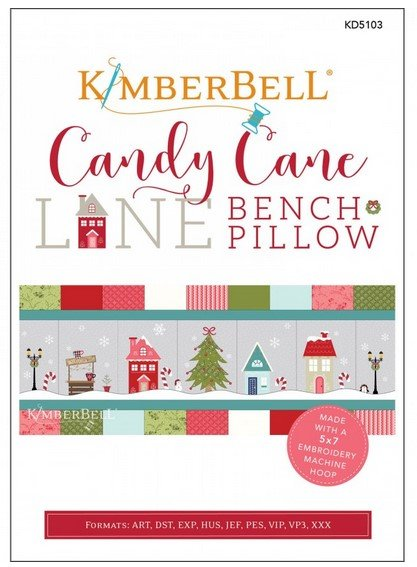 Candy Cane Lane - Kimberbell Embroidery CD