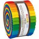 Bright Rainbow Palette - Kona Cotton (24) 2 1/2 Strip rolls