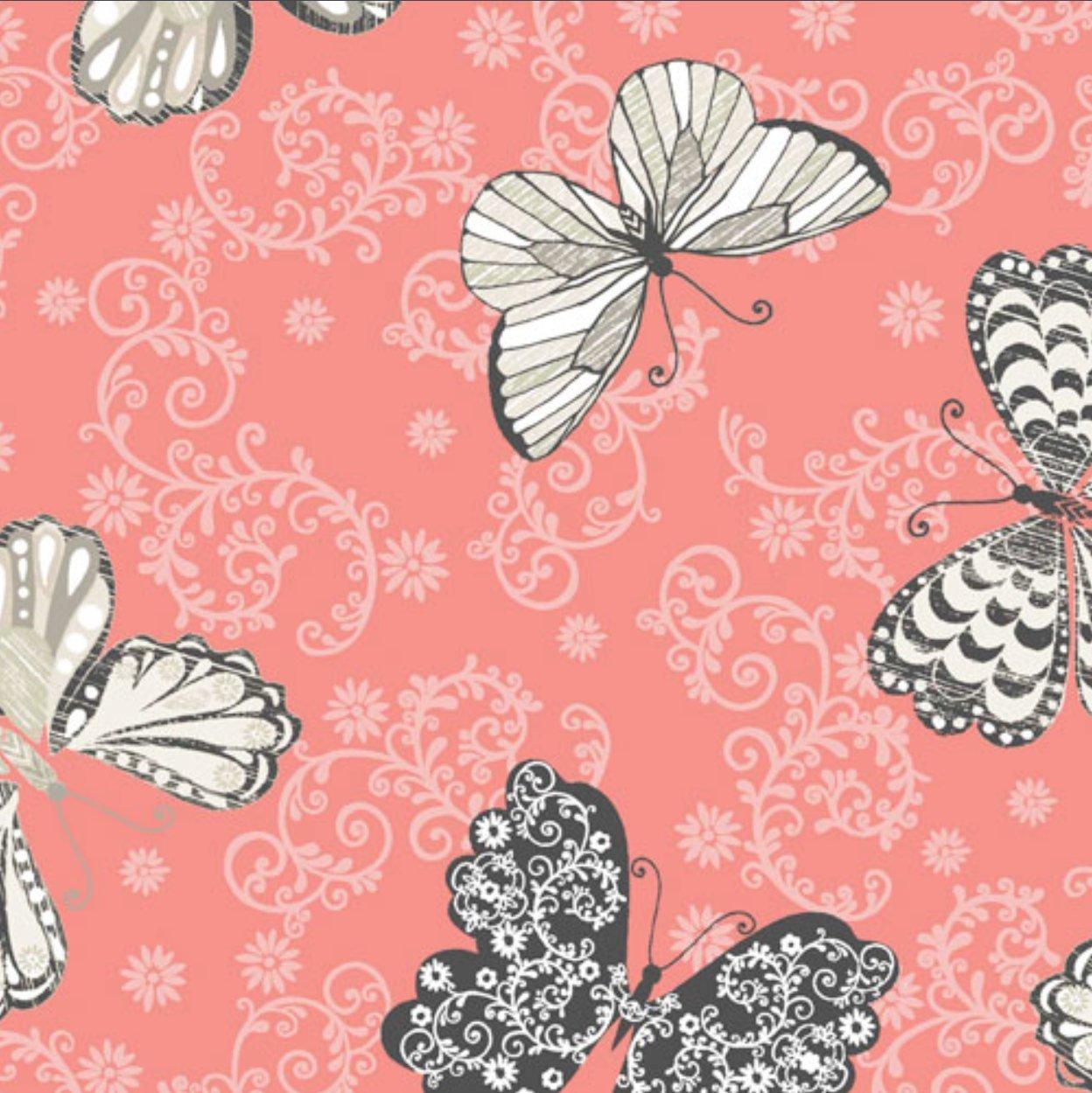 C'Est La Vie Butterfly Coral